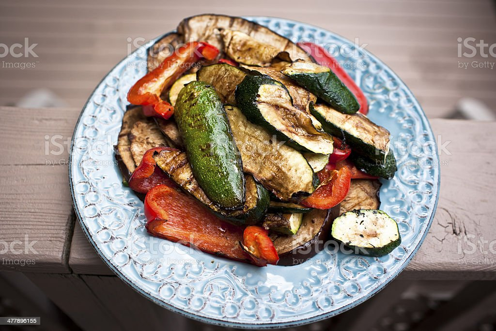 Grilled Vegetables royalty-free stock photo