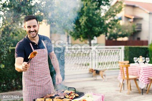 istock Grilling at backyard 905275404