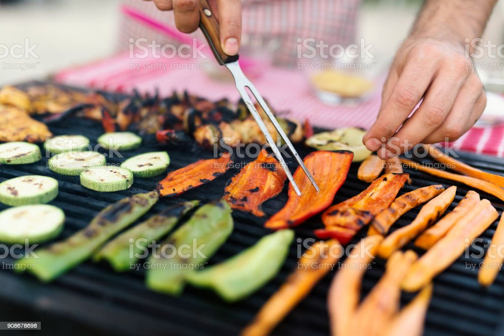 Grilling stock photo
