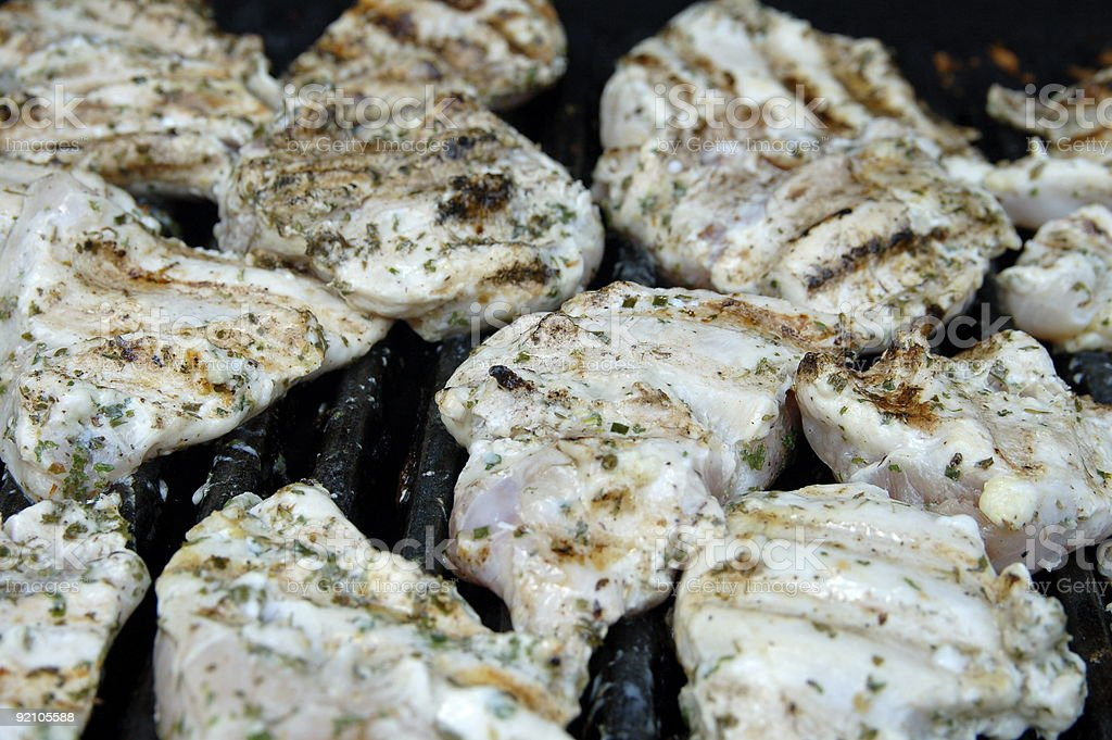 Grilling Time royalty-free stock photo