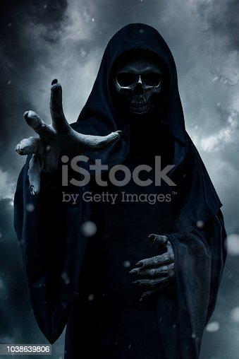 Grim Reaper. Halloween.