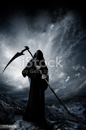 Grim Reaper. Halloween theme. See more Grim Reapers (XXXL size) in my lightbox