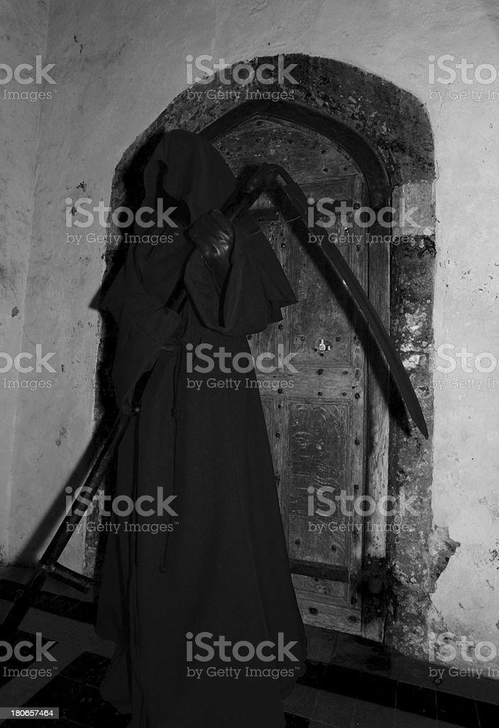 Grim Reaper royalty-free stock photo