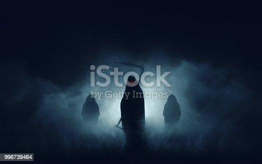 istock Grim reaper 996739464
