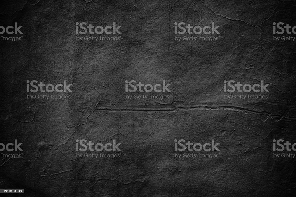 grim wall texture, dark background black cement stock photo