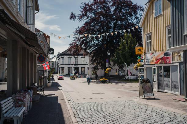Grimstad stock photo