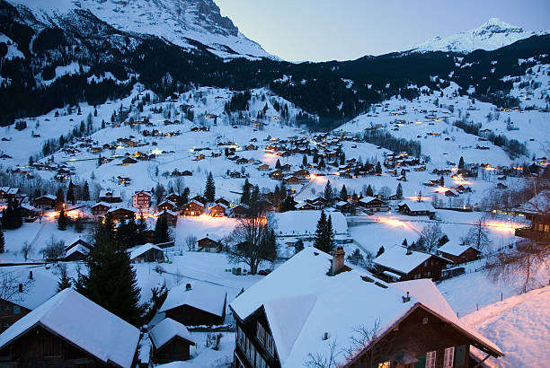 Grindelwald - Switzerland stock photo