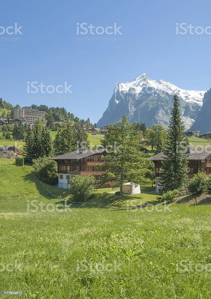 Grindelwald,Bernese Oberland,Switzerland royalty-free stock photo