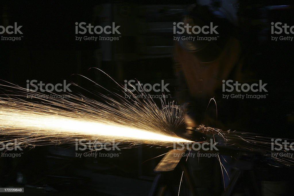 Grinder Man 2 royalty-free stock photo