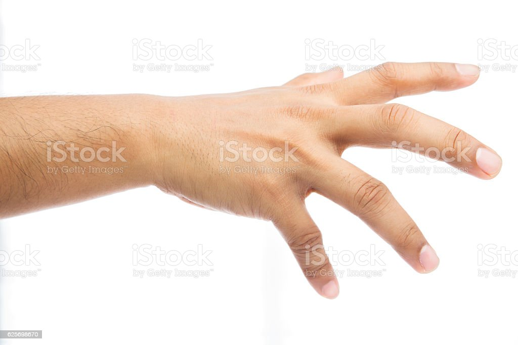 Gripping stock photo