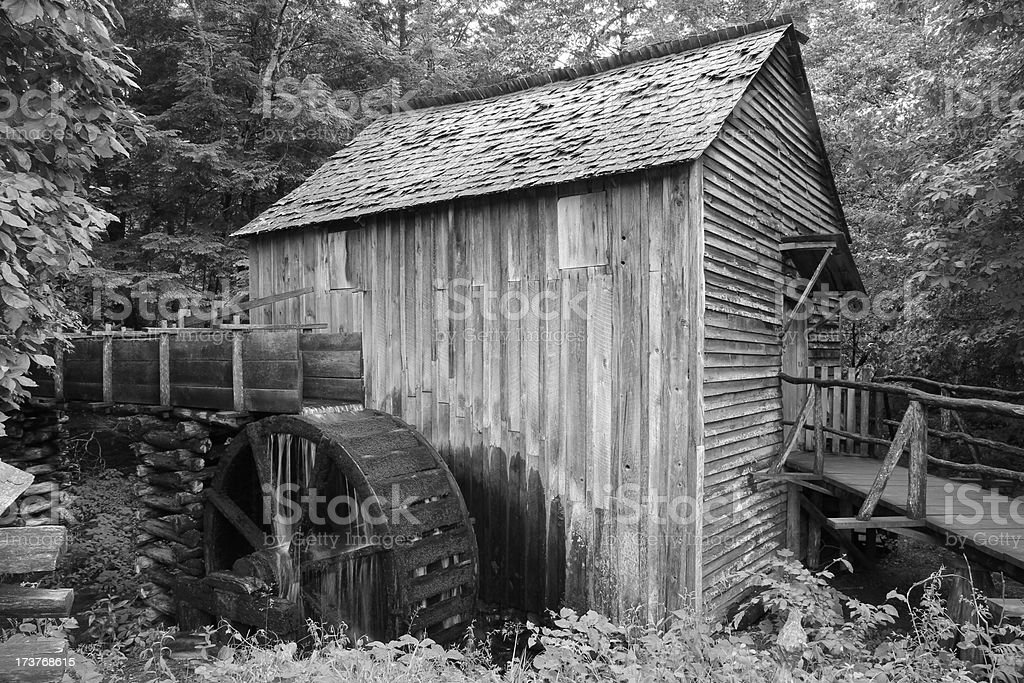 Gristmill royalty-free stock photo