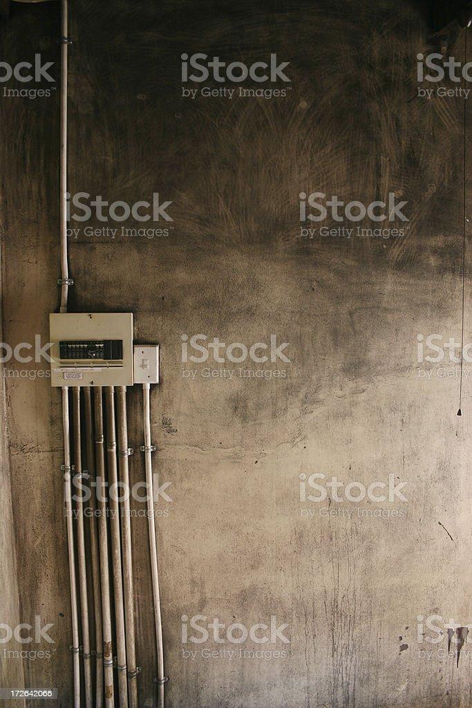 Grit-o-meter stock photo