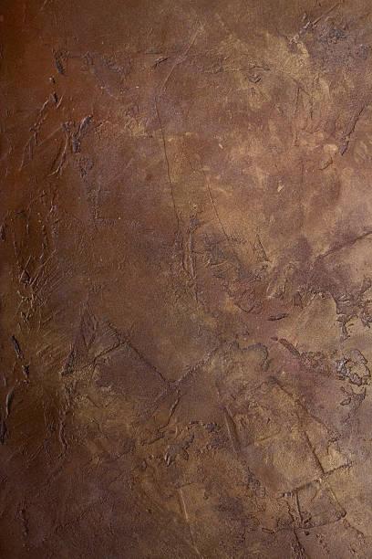 gritty brownstone - pleister bouwmateriaal stockfoto's en -beelden