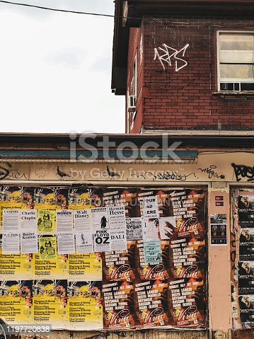 136699912 istock photo Gritty Kensington Market - Toronto, ON. Canada 1197720838