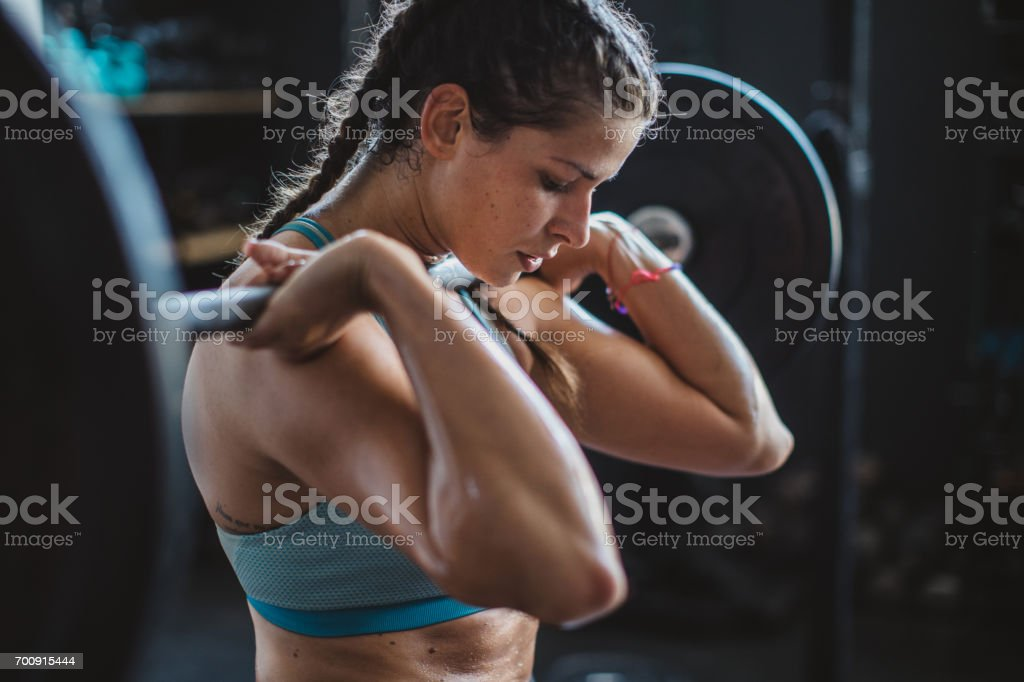 Gritty Women stock photo