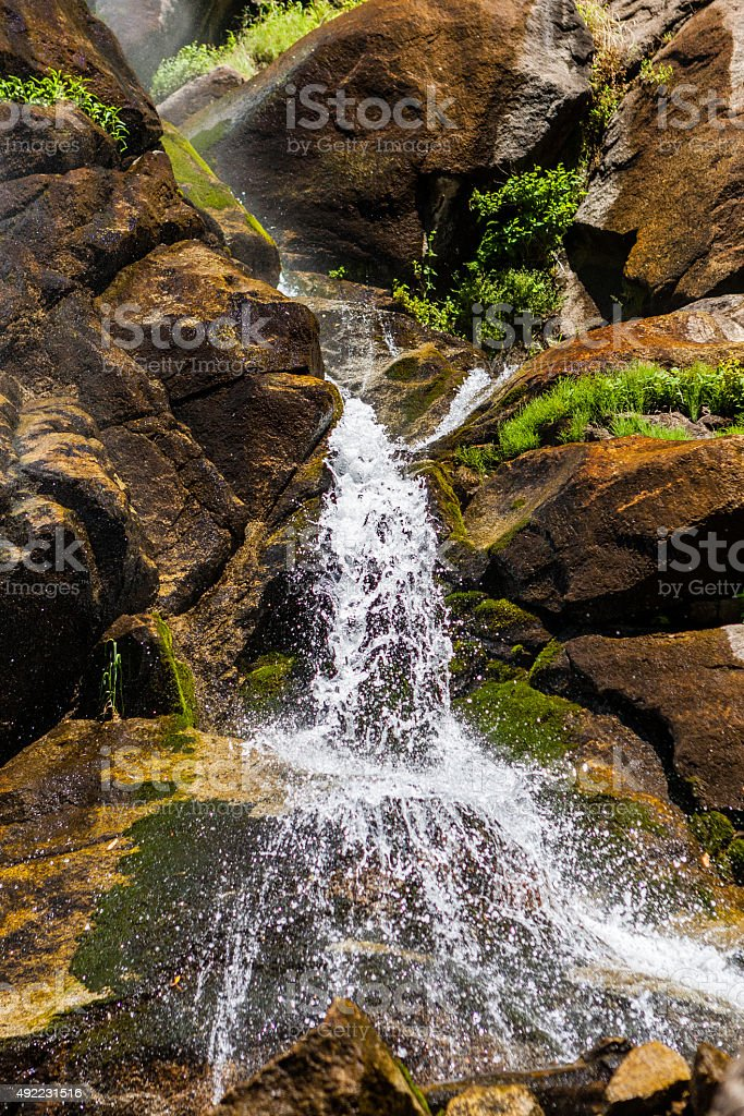 Grizzly Falls, Sequoia National Forest, California, USA stock photo