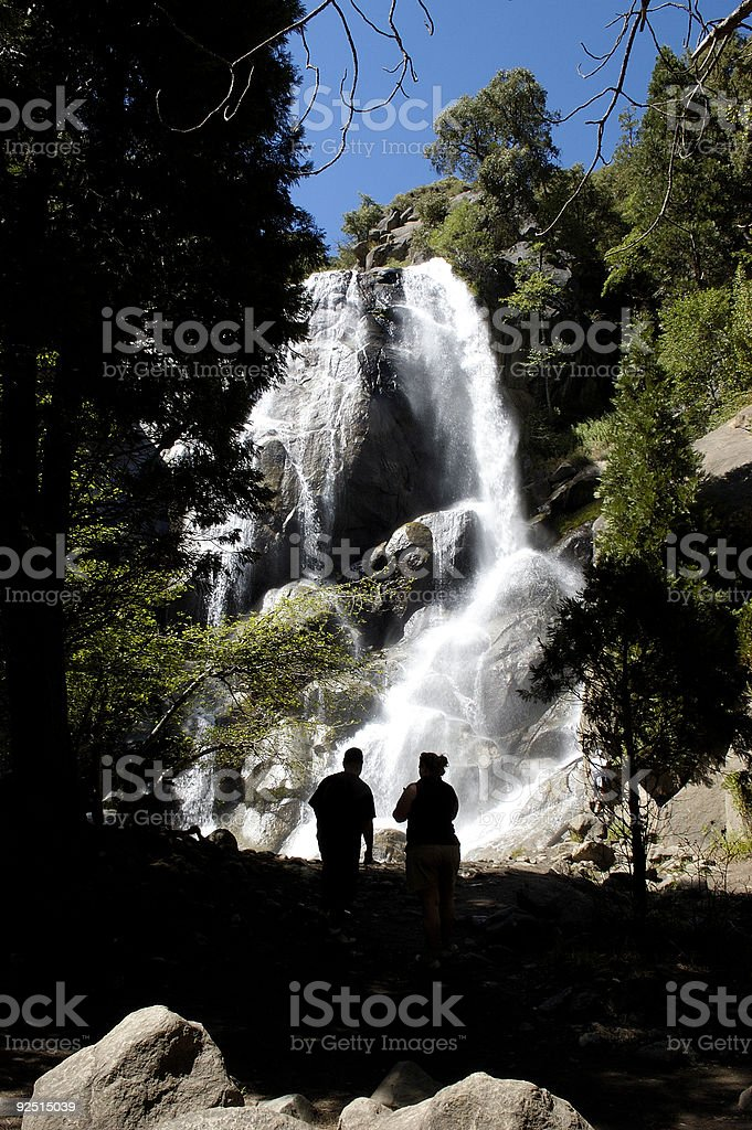 Grizzy falls, Kings Canyon National Park royalty-free stock photo