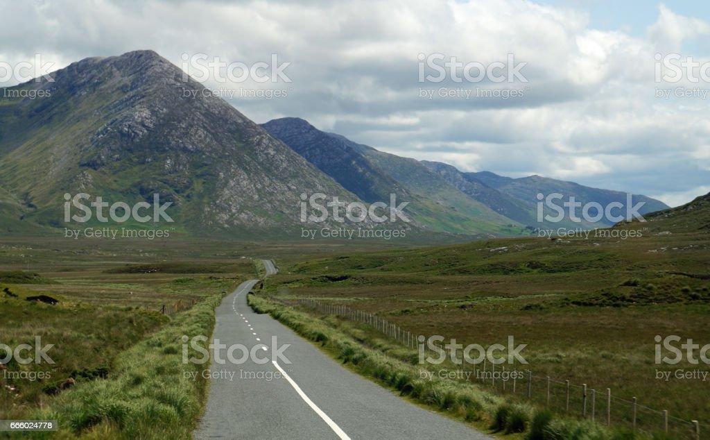 grüne Insel Irland stock photo
