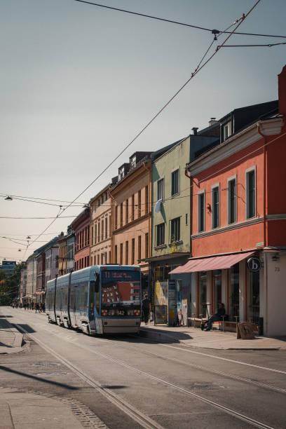 Grünerløkka, Oslo stock photo