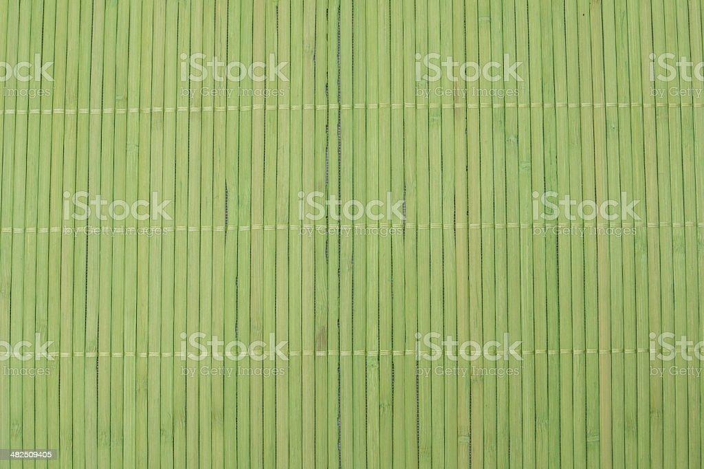 Grünes Bambusset stock photo