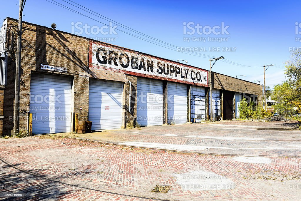Groban Supply Co. INC in Burnside, Chicago royalty-free stock photo