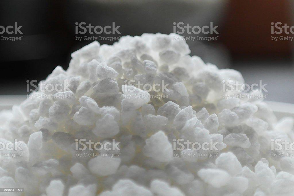 grober Zucker stock photo