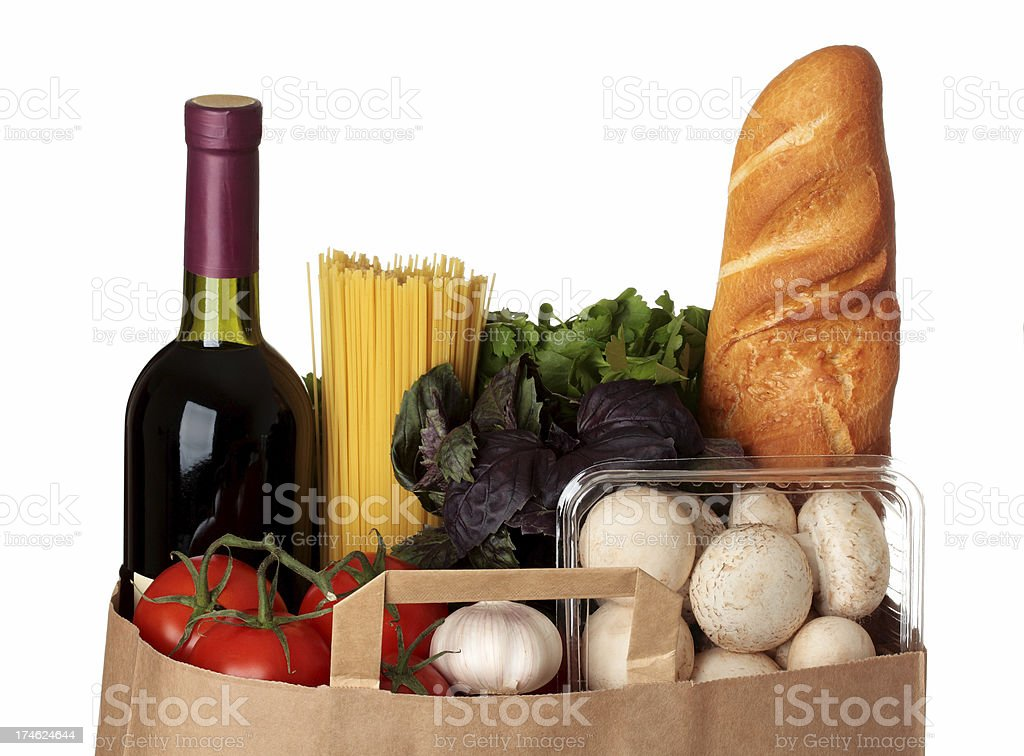 Groceries stok fotoğrafı
