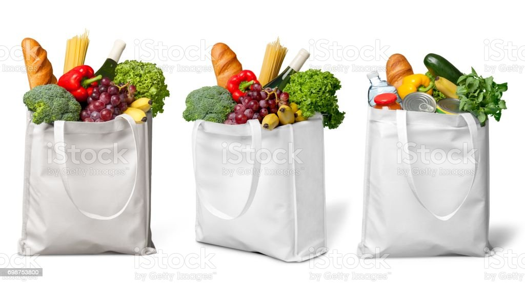Groceries. stock photo