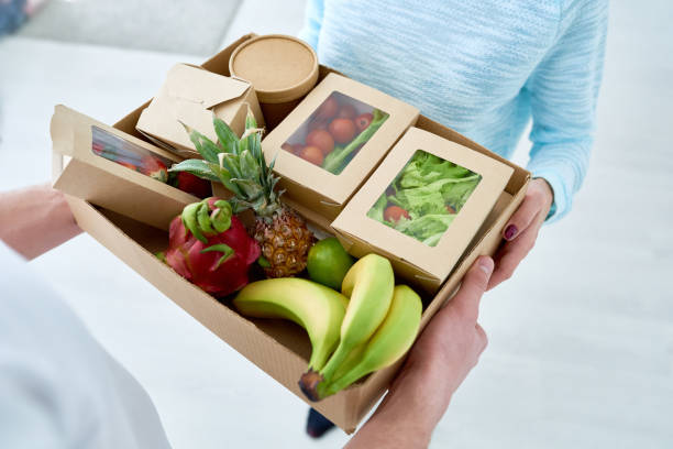Grocery Delivery Service stock photo
