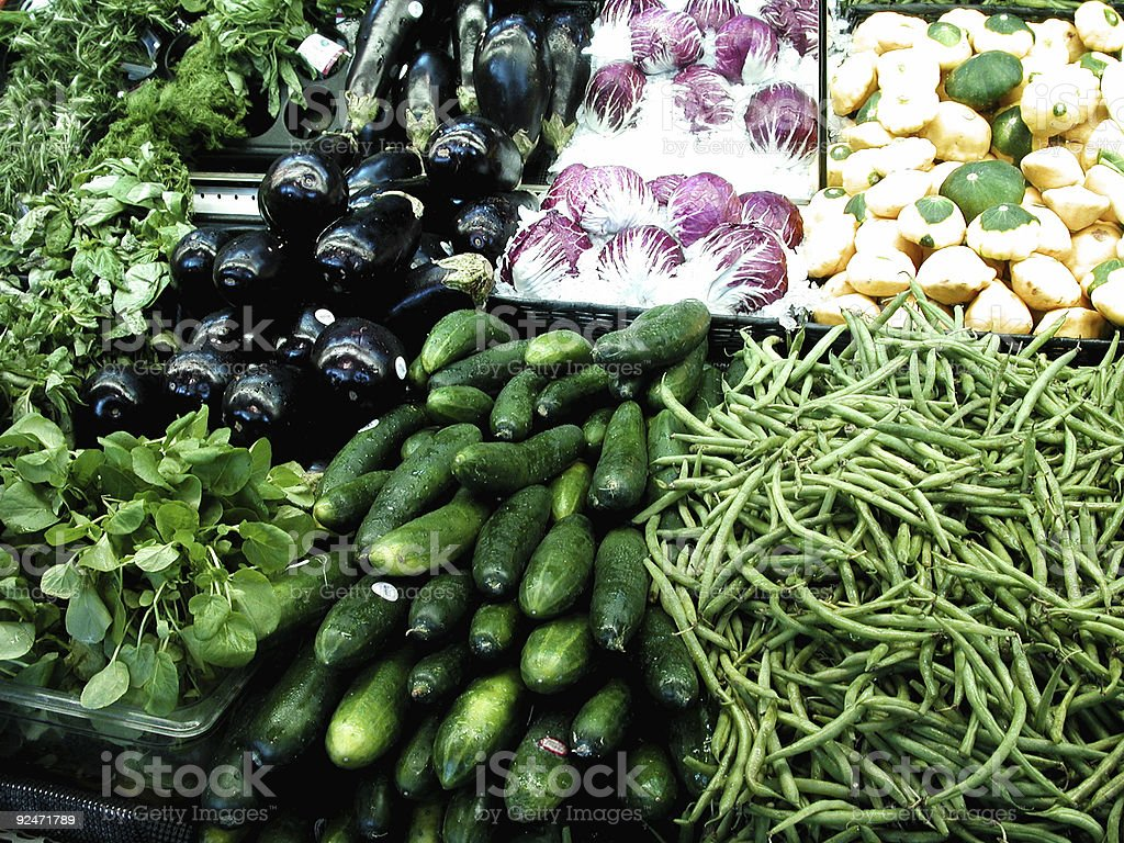 Grocery Produce stock photo