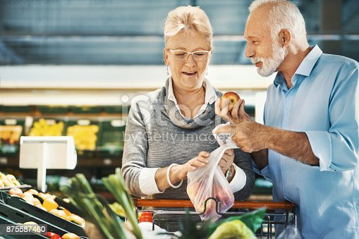 istock Grocery Shopping 875587460