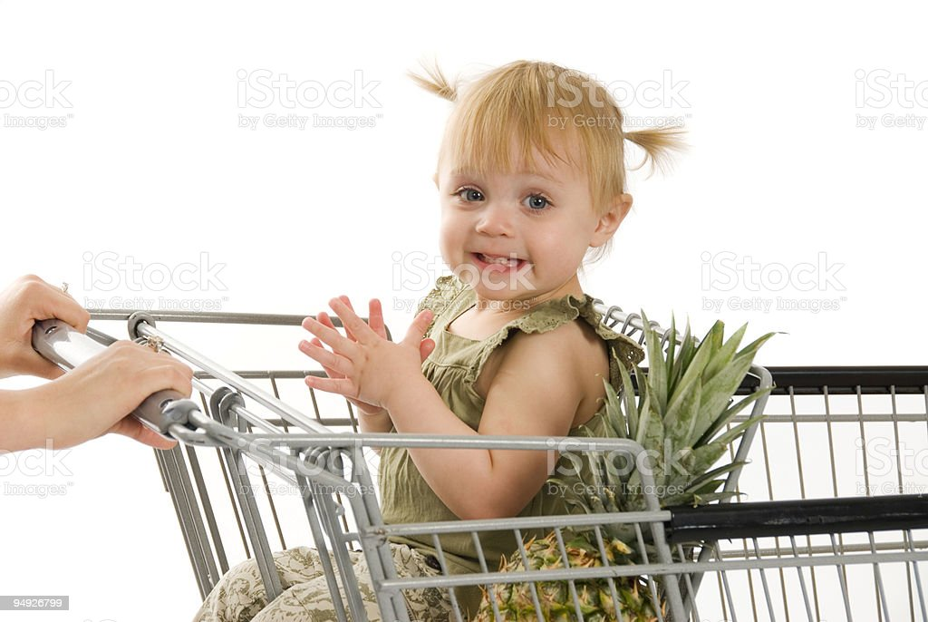 Grocery Shopping Series royalty-free stock photo
