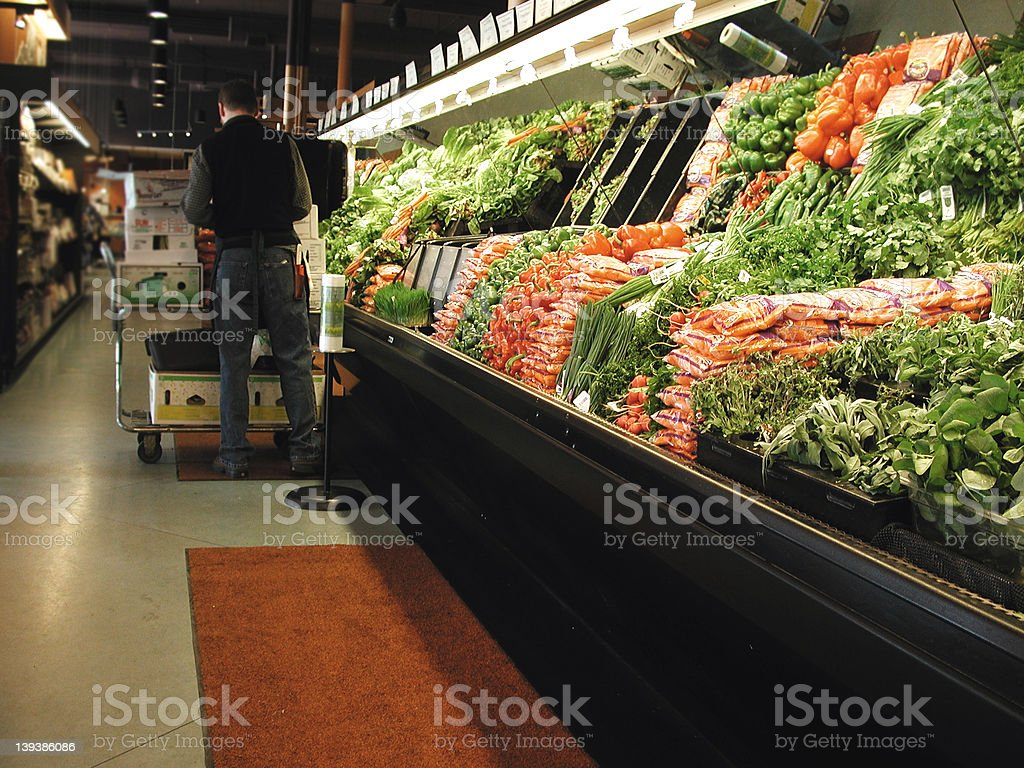 Grocery Store 1 royalty-free stock photo