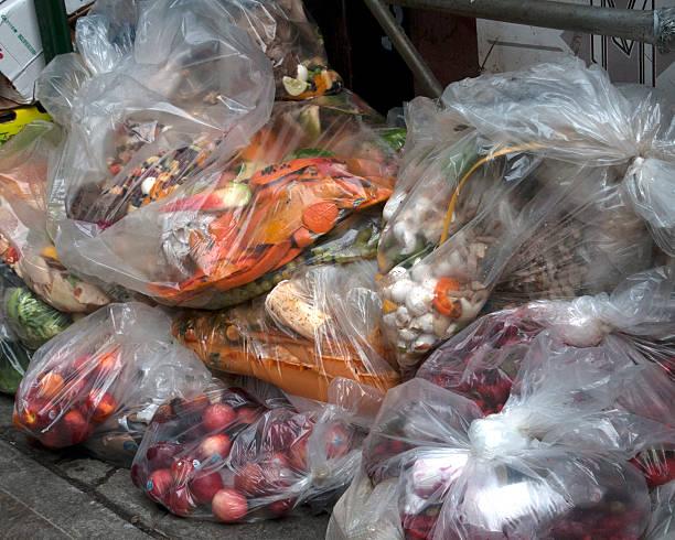 épicerie ordures - détritus photos et images de collection