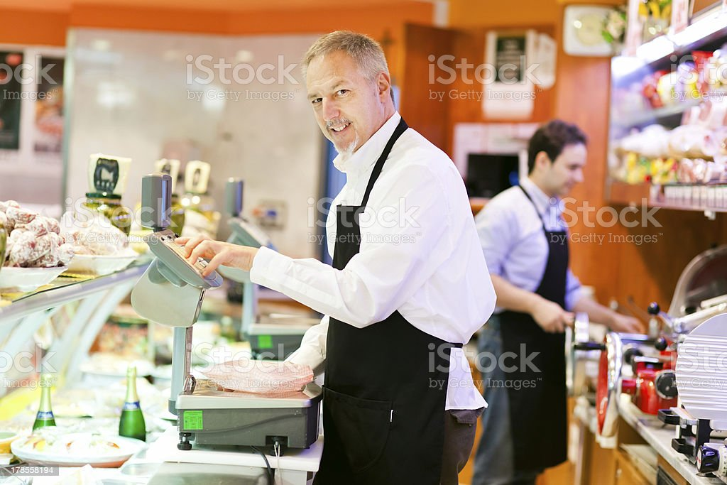 Grocery store royalty-free stock photo