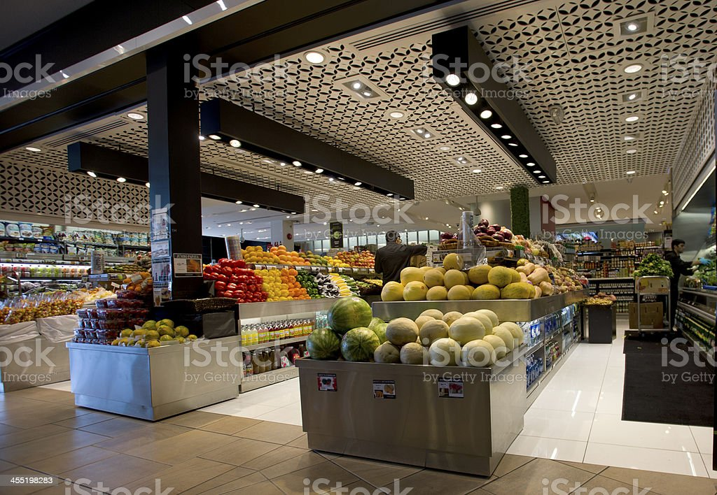 Grocery Store stock photo