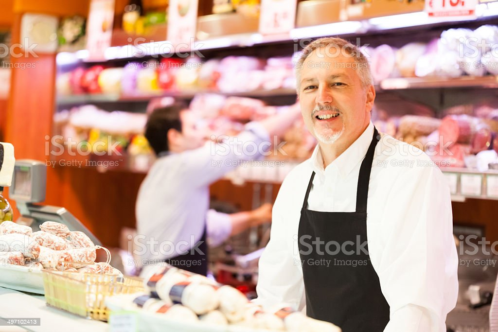 Grocery store bildbanksfoto