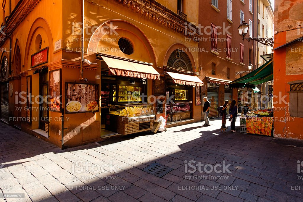 Grocery stores in the 'Quadrilatero' - foto de stock