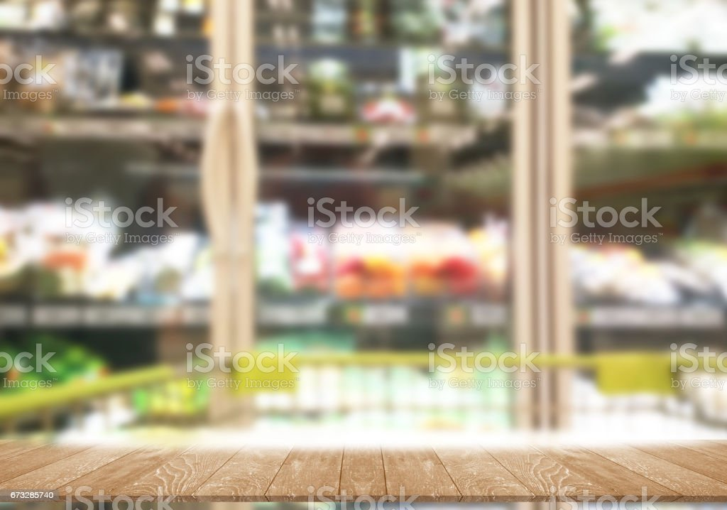 grocery supermarket Sell food frozen photo counterblock royalty-free stock photo