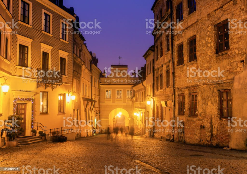 Grodzka Gate in Lublin stock photo