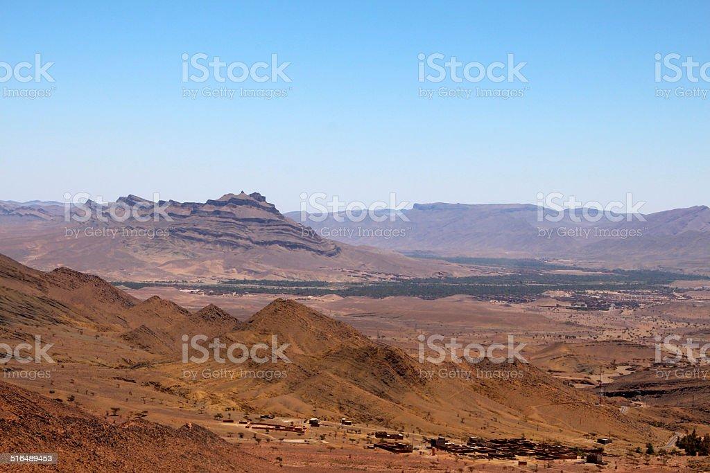 Große Oase in Marokko stock photo