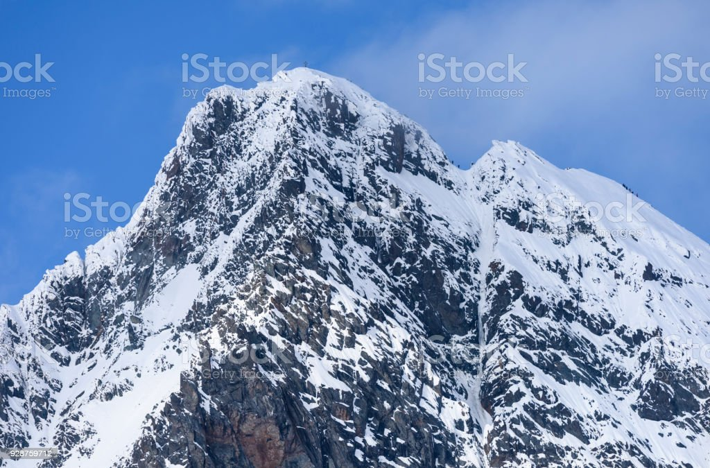 Großglockner, Hohe Tauern, Stüdlgrat stock photo