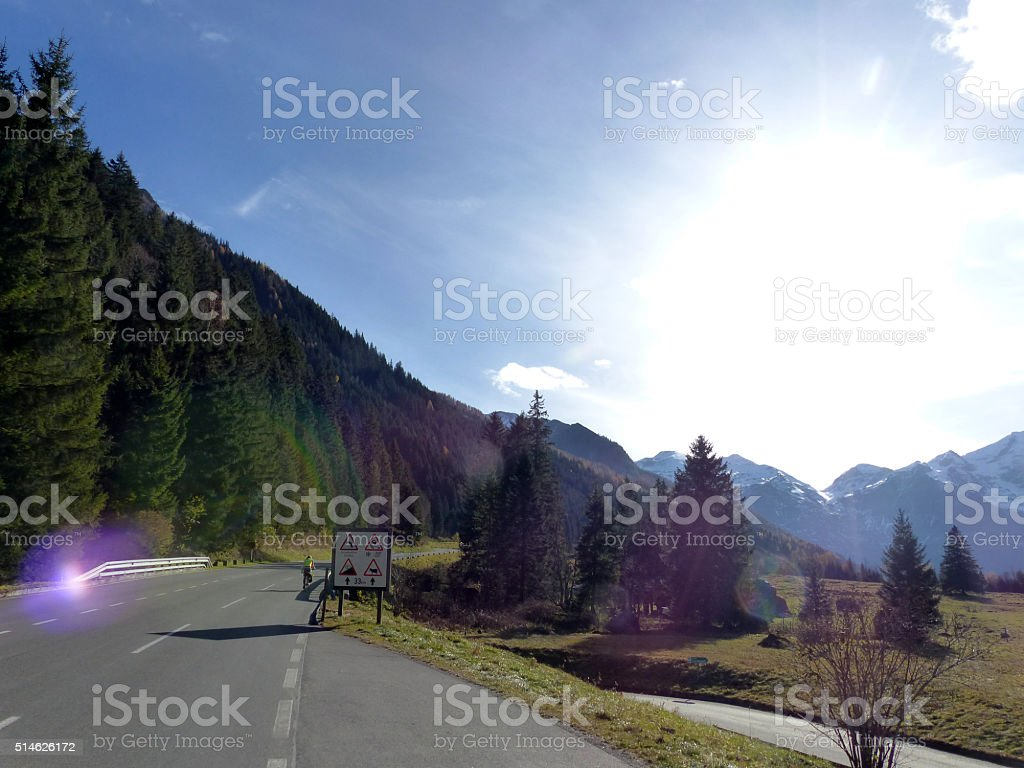 Großglockner stock photo