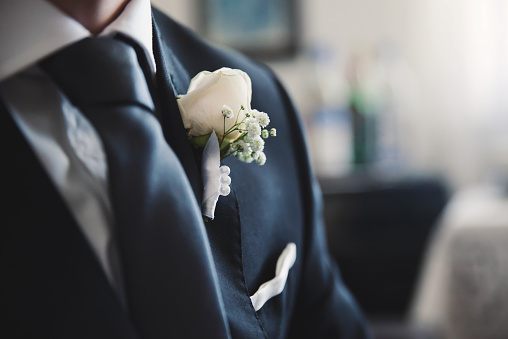 istock A groom preparing to marry the love of his life 468219898