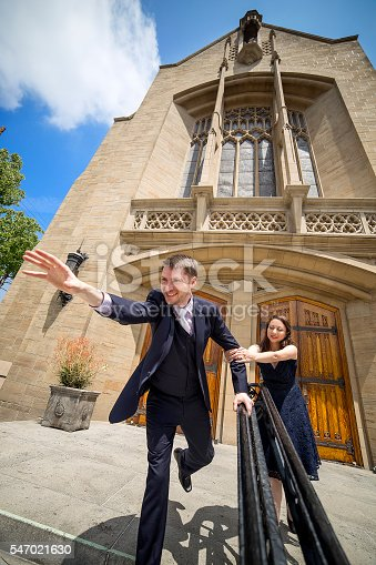istock Groom Running Away 547021630
