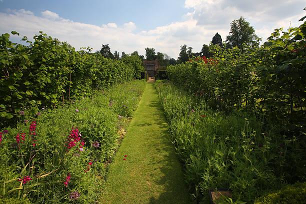 Groombridge Place Gardens stock photo