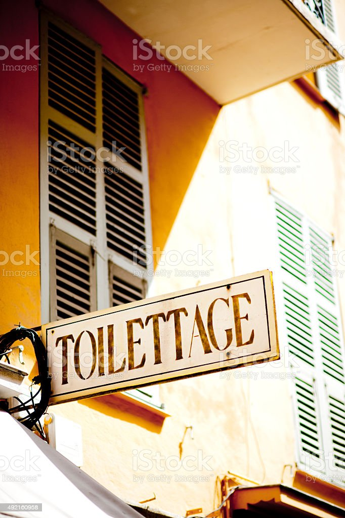 Toilettage royalty-free stock photo