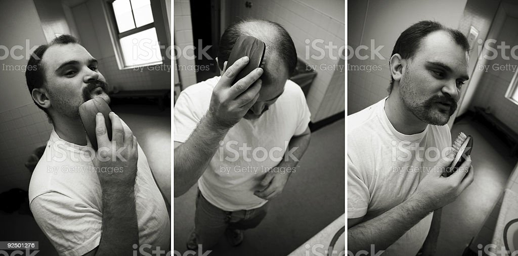grooming royalty-free stock photo