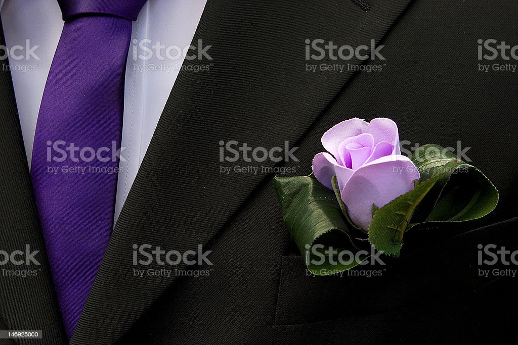 Grooms Flower royalty-free stock photo