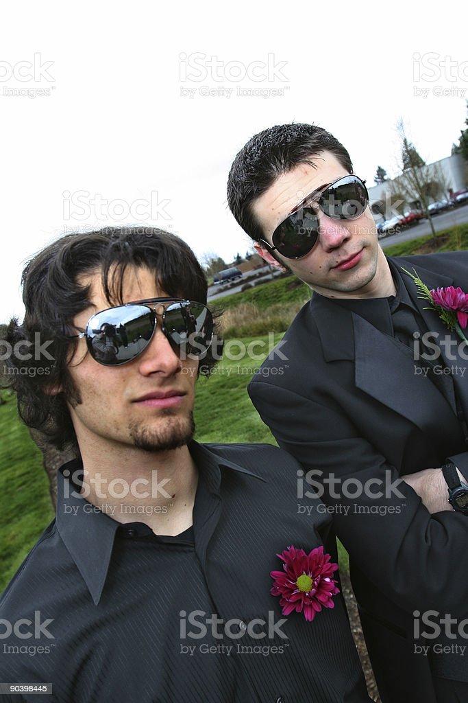 Groomsmen royalty-free stock photo